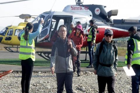 Pencarian Enam Pendaki di Nepal Terkendala Cuaca