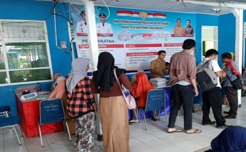 3.336 Penduduk Kota Baubau Belum Rekam KTP Elektronik
