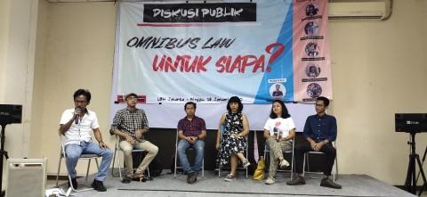 Omnibus Law Lapangan Kerja Dinilai Tak Perhatikan Kualitas Hidup
