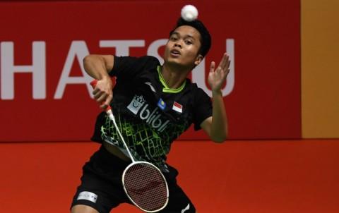 Tundukkan Antonsen, Ginting Raih Gelar Kedua di Indonesia Masters