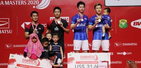 Daftar Juara Indonesia Masters 2020: Tuan Rumah Dominasi Gelar