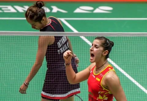 Indonesia Masters 2020: Usai Lakoni Final, Intanon dan Marin Saling Puji