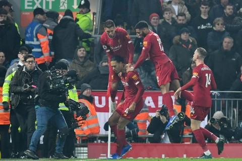 Bungkam MU, Liverpool Makin Perkasa di Puncak Klasemen