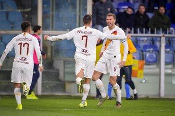 Cukur Genoa, Roma Kembali ke Jalur Kemenangan