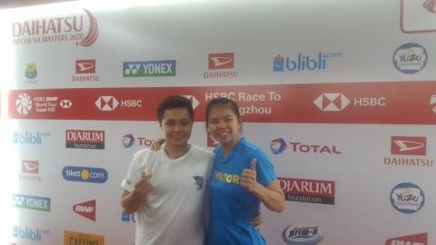 Pertama Kali Juara di Indonesia, Greysia/Apriyani Ogah Selebrasi Berlebihan