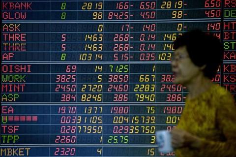 Bursa Saham Asia Merekah