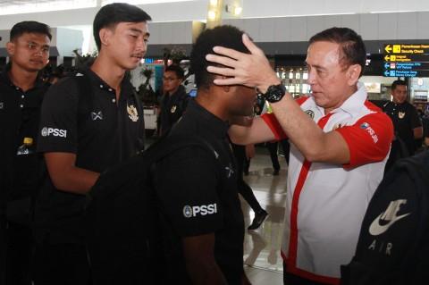 Jalani Pemusatan Latihan, Timnas Indonesia U-19 Bertolak ke Thailand