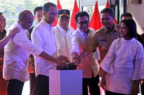 Jokowi Resmikan Kawasan Terpadu Marina Labuan Bajo
