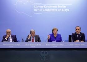 Pokok Utama Pertemuan Berlin untuk Perdamaian Libya