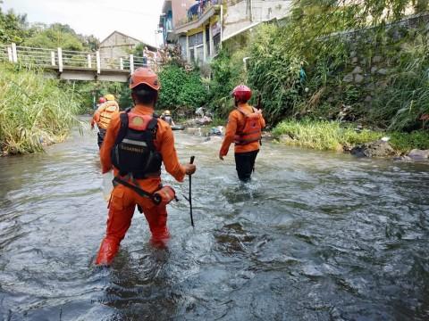 Seorang Santri di Bogor Hilang Terseret Arus Sungai
