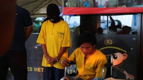 Begal Sopir Truk di Jakut 'Dihadiahi' Timah Panas