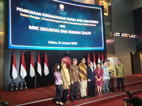 Rumah Zakat Indonesia Luncurkan Produk Wakaf Saham