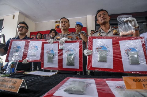 Polres Bogor Ungkap Pabrik Ekstasi Dikendalikan Napi Gunung Sindur