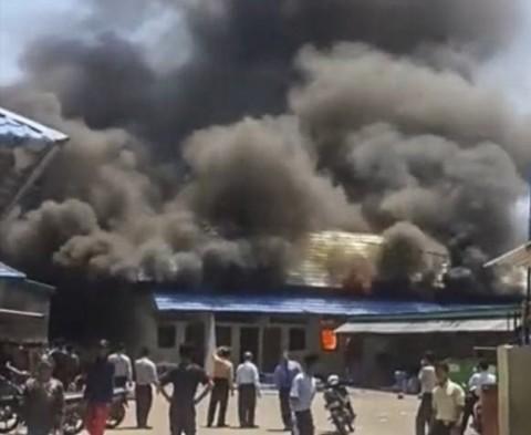 Bangunan Pondok Gontor 2 Terbakar