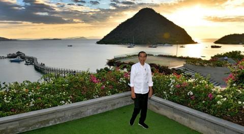 Jokowi Ingin Labuan Bajo Jadi Pariwisata Kelas Dunia