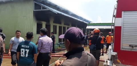 Polisi Selidiki Penyebab Kebakaran Pondok Gontor 2