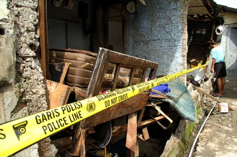 Tabung Gas Meledak di Bekasi, Satu Warga Luka Parah
