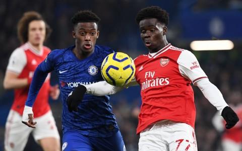 Chelsea Kontra Arsenal Berakhir Sengit