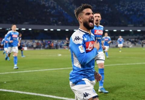 Singkirkan Lazio, Napoli Melaju ke Semifinal Coppa Italia