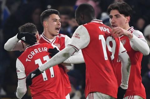 Arsenal Tahan Imbang Chelsea di Stamford Bridge