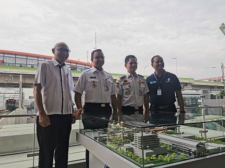 Jembatan Penghubung MRT-Transjakarta Dibangun di Kebayoran Baru