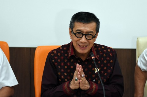 Yasonna Minta Maaf kepada Warga Tanjung Priok
