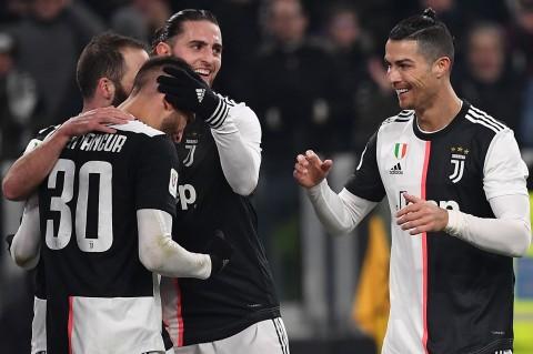 Tekuk Roma, Juventus ke Semifinal Coppa Italia