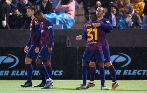Copa Del Rey: Barcelona dan Madrid Singkirkan Tim Divisi Ketiga