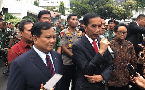 Jokowi Instructs Prabowo to Strengthen Defense Diplomacy