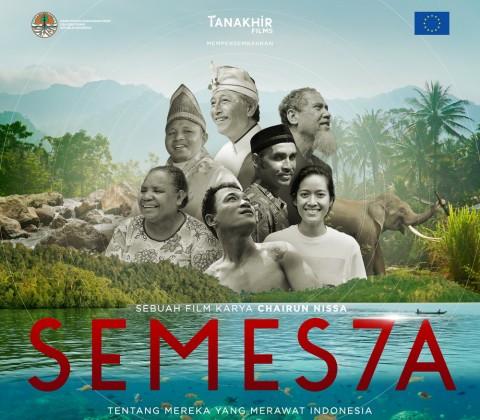 Film Semesta Bentuk Kekhawatiran Nicholas Saputra terhadap Krisis Ekologi