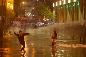 Protes Berlanjut Sehari Setelah Terbentuk Pemerintahan Baru Lebanon