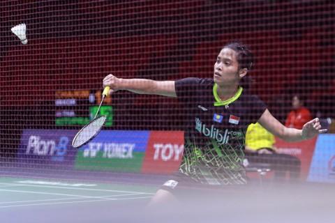 Thailand Masters 2020: Gregoria Melangkah ke Perempat Final