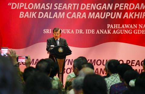 Perjuangkan Diplomasi Perdamaian, Jusuf Kalla Raih Penghargaan