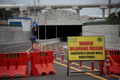 <i>Underpass</i> Bandara YIA Diujicoba Besok Pagi