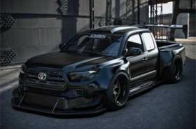 Tampilan Sangar Toyota Tacoma Khusus Balap