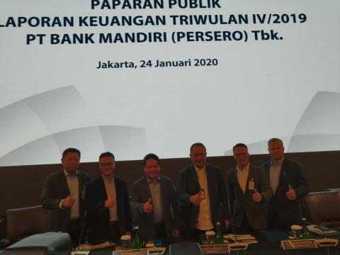 Bank Mandiri Cetak Laba Rp27,5 Triliun di 2019