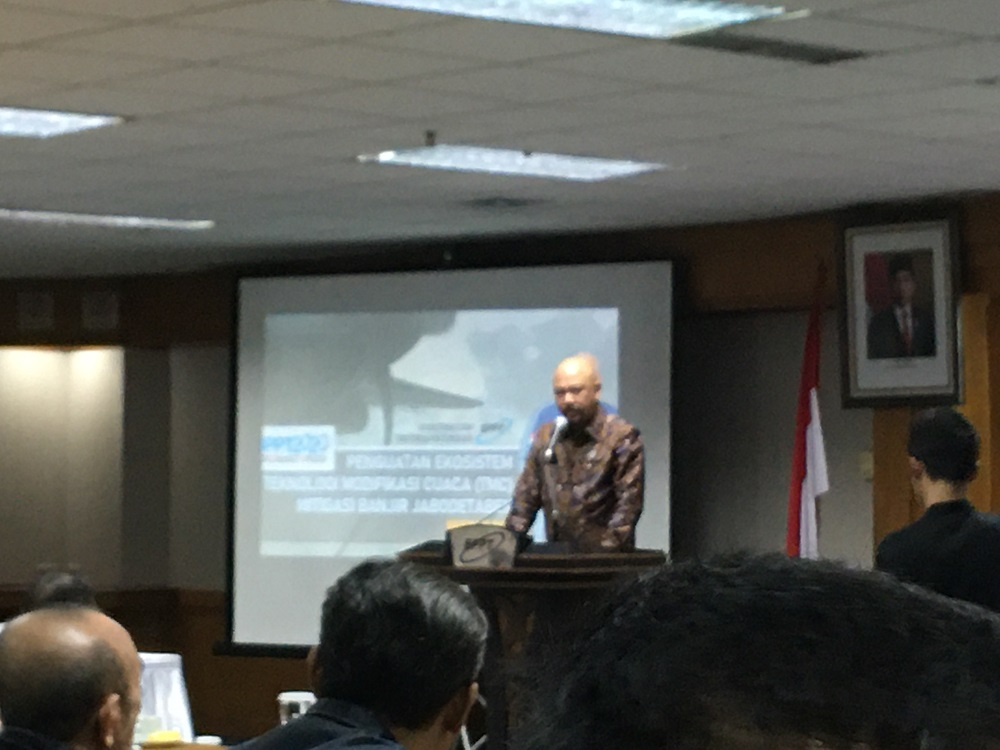 Kepala BPPT Hammam Riza. Foto: Medcom.id/Intan Yunelia