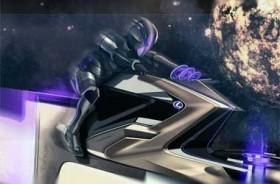 Penampakan Konsep Mobil Luar Angkasa Karya Desainer Lexus