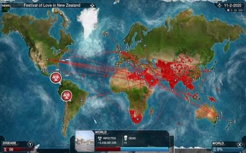 Game Simulasi Penyebaran Wabah Mendadak Viral di Tiongkok