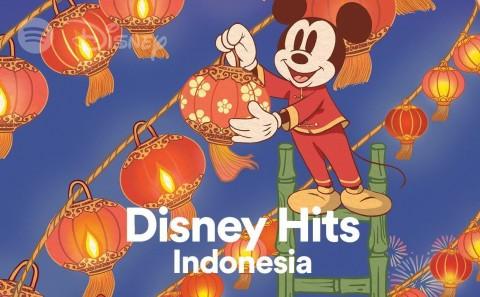 Kumpulan Lagu dan Konten Disney Hadir di Spotify Asia Tenggara