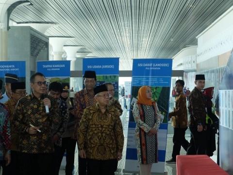 Ma'ruf Yakin Bandara NYIA Dongkrak Wisatawan Mancanegara