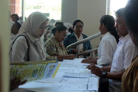 Ratusan Honorer di RSUD Jayapura Diseleksi Ulang
