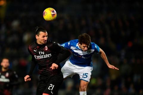 AC Milan Kalahkan Brescia, Pioli Sanjung Kerja Keras Pemain