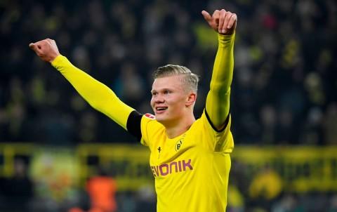 Haaland Pecahkan Rekor Bundesliga