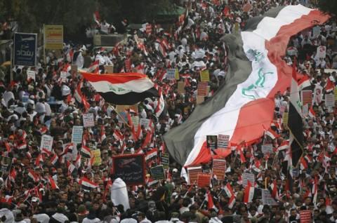 Gunakan Peluru Tajam, Pasukan Irak Serbu Lokasi Protes