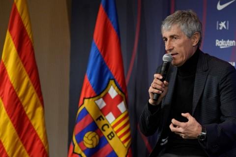 Komunikasi Setien dengan Penggawa Barcelona Bermasalah