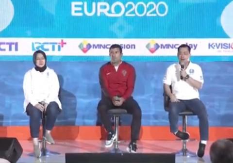 Luis Figo Promosikan Piala Eropa 2020 di Indonesia