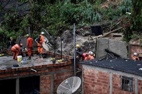 Banjir dan Longsor di Brasil Tewaskan 30 Orang