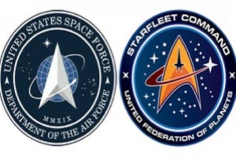 Logo Pasukan Luar Angkasa AS Dituding Jiplak Star Trek