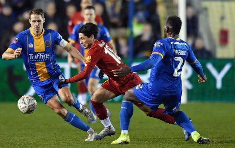 Shrewsbury Paksa Liverpool Bermain di Laga Ulangan